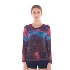 Vela Supernova Women s Long Sleeve T Shirts