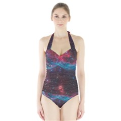 VELA SUPERNOVA Women s Halter One Piece Swimsuit