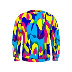 Colorful Chaos  Kid s Sweatshirt by LalyLauraFLM