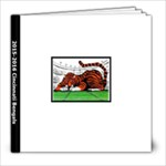 2015-2016 Bengals Scrapbook - 8x8 Photo Book (20 pages)
