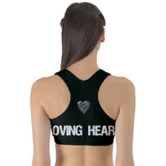 Women s Reversible Sports Bra Outside Back
