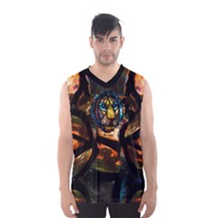 curty by saprillika Men s Basketball Tank Top by saprillika