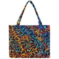 Colorful Seashell Beach Sand, Tiny Tote Bags