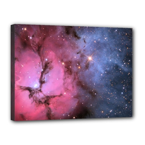 Trifid Nebula Canvas 16  X 12
