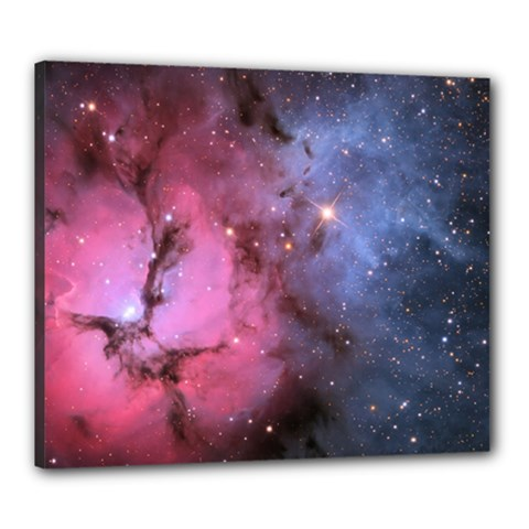 Trifid Nebula Canvas 24  X 20