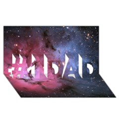 Trifid Nebula #1 Dad 3d Greeting Card (8x4)