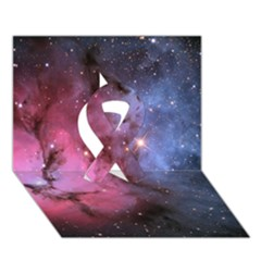 Trifid Nebula Ribbon 3d Greeting Card (7x5)