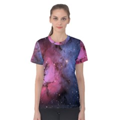 Trifid Nebula Women s Cotton Tee