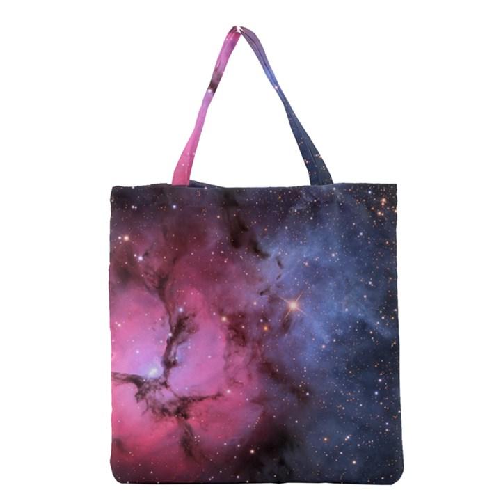 TRIFID NEBULA Grocery Tote Bags