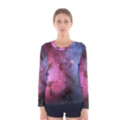 Trifid Nebula Women s Long Sleeve T Shirts by trendistuff