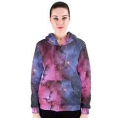 Trifid Nebula Women s Zipper Hoodies