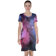 Trifid Nebula Short Sleeve Nightdresses