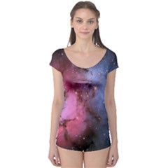 Trifid Nebula Short Sleeve Leotard
