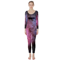 Trifid Nebula Long Sleeve Catsuit