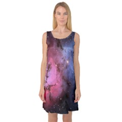 Trifid Nebula Sleeveless Satin Nightdresses