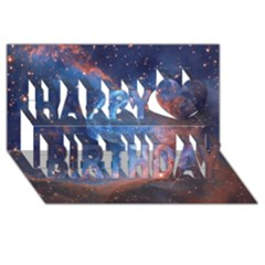 Thor s Helmet Happy Birthday 3d Greeting Card (8x4)