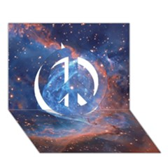 Thor s Helmet Peace Sign 3d Greeting Card (7x5)
