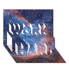 THOR S HELMET WORK HARD 3D Greeting Card (7x5)