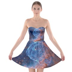 Thor s Helmet Strapless Bra Top Dress