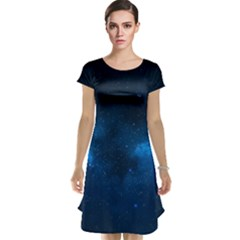 STARRY SPACE Cap Sleeve Nightdresses by trendistuff