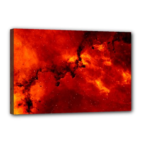 Rosette Nebula 2 Canvas 18  X 12  by trendistuff