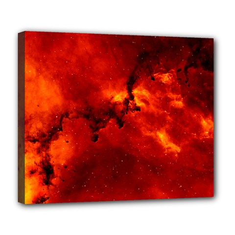 Rosette Nebula 2 Deluxe Canvas 24  X 20   by trendistuff