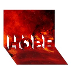 Rosette Nebula 2 Hope 3d Greeting Card (7x5)  by trendistuff