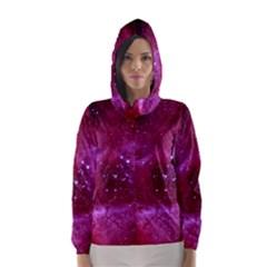 Rosette Nebula 1 Hooded Wind Breaker (women) by trendistuff