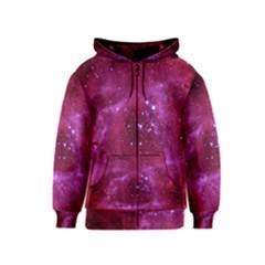 Rosette Nebula 1 Kids Zipper Hoodies by trendistuff