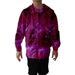 Rosette Nebula 1 Hooded Wind Breaker (kids) by trendistuff