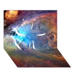 Orion Nebula Clover 3d Greeting Card (7x5)