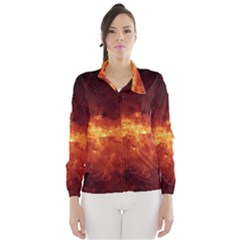 Milky Way Clouds Wind Breaker (women)