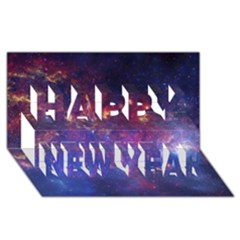 Milky Way Center Happy New Year 3d Greeting Card (8x4)