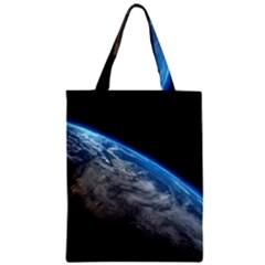 Earth Orbit Classic Tote Bags by trendistuff