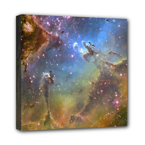 Eagle Nebula Mini Canvas 8  X 8  by trendistuff
