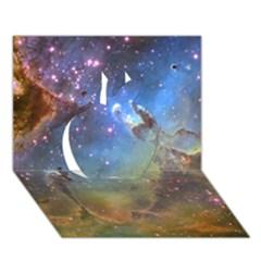 Eagle Nebula Apple 3d Greeting Card (7x5)