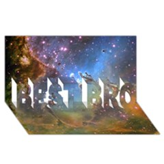 EAGLE NEBULA BEST BRO 3D Greeting Card (8x4)  by trendistuff