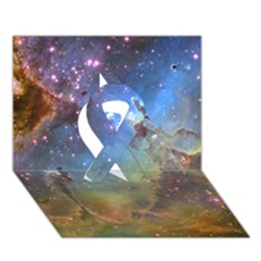 Eagle Nebula Ribbon 3d Greeting Card (7x5)