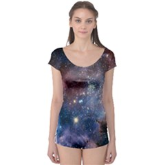 Carina Nebula Short Sleeve Leotard by trendistuff