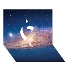 Andromeda Ribbon 3d Greeting Card (7x5)