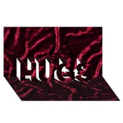 Luxury Claret Design HUGS 3D Greeting Card (8x4)  by Costasonlineshop