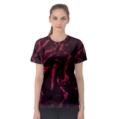 Luxury Claret Design Women s Sport Mesh Tees by Costasonlineshop