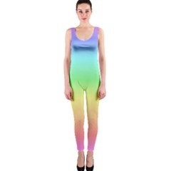 Rainbow Colors OnePiece Catsuits by LovelyDesigns4U