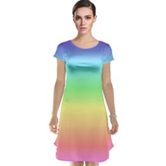 Rainbow Colors Cap Sleeve Nightdresses by LovelyDesigns4U