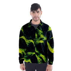 Green Northern Lights Wind Breaker (men) by Costasonlineshop