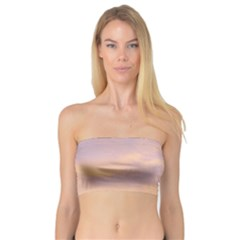 Yellow Blue Pastel Sky Women s Bandeau Tops by Costasonlineshop