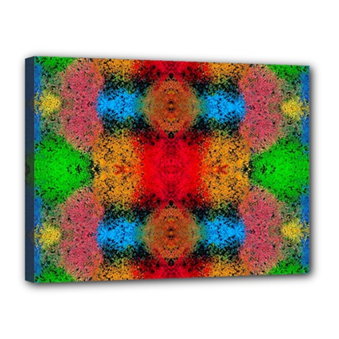 Colorful Goa   Painting Canvas 16  X 12  by Costasonlineshop
