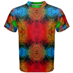 Colorful Goa   Painting Men s Cotton Tees