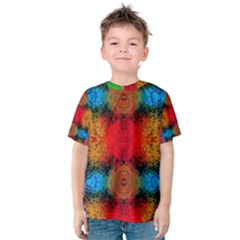 Colorful Goa   Painting Kid s Cotton Tee