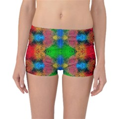 Colorful Goa   Painting Boyleg Bikini Bottoms